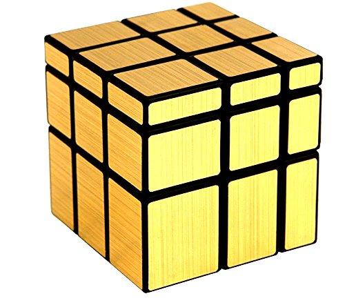 Kumar Toys Golden Magic Mirror Cube Gold