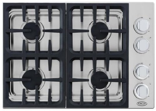 DCS CDU304L 30″ Gas Cooktop with 4 Sealed Dual Flow Burners, Continuous Grates and Stainless Steel Design: Liquid Propane  ->  DCS by Fisher and Paykel What do you get when you