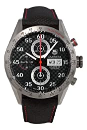 TAG Heuer Men s CV2A80 FC6256 Carrera Grey Carbon Fiber Dial Watch