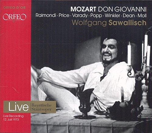 CD : MOZART / RAIMONDI / CHOIR & ORCH OF THE BAVARIAN - Don Giovanni (3 Discos)