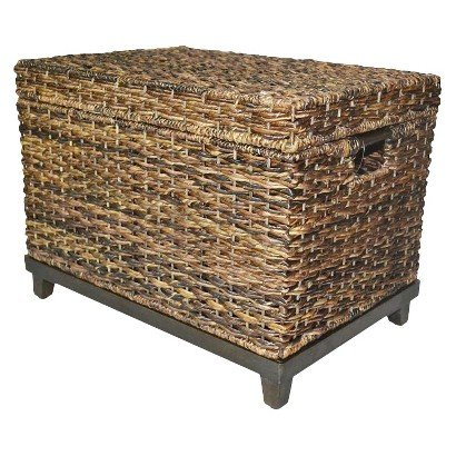 Wicker Storage Trunk Coffee Tables