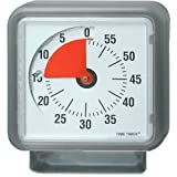Time Timer Audible Countdown Timer - 12 Inches - Grey