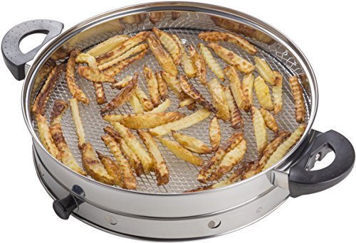 Andrew James Halogen Oven Air Fryer Attachment, Suitable For Use With Any 12 Litre Halogen Oven