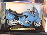 BMW R1100RT Gendarmerie Police Light Blue 1/18 Mondo Motors Model Motorcycle