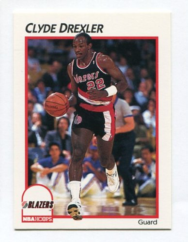 Clyde Drexler 1991-92 NBA Hoops McDonald's #34