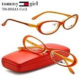 【トミーガール メガネ】tommy girl メガネフレーム TH-5015JA-3