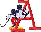 パイオニア アルファベット ワッペン ディズニー ミッキーマウス MY4001-MY306