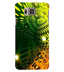 ColourCraft Abstract image Design Back Case Cover for SAMSUNG GALAXY ALPHA G850
