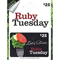 $25 Ruby Tuesday Gift Card