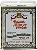 Madras Curry Powder (SunBrand) 4oz (113g)