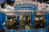 51OqdbNmXUL. SL160  Skylanders Spyros Adventure Mini Figure Character 3Pack Legendaries Spyro Legendary, Chop Chop Legendary BashLegendary