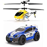 Griffin RC Bluetooth Rally Car & Helo TC Chopper for iPhone/iPod/ iPad