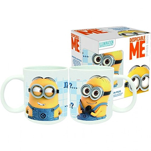 "TAZZA IN CERAMICA MINIONS ""DAUGHTY?.. ..OR NICE? cod. 12373"