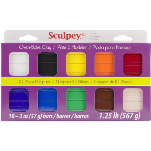 Sculpey III Multipack - Classic Collection (Modeling Clay Bake compare prices)