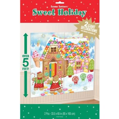 Sweet Holiday Gingerbread Scene Setter