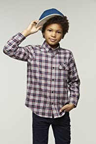 Boy's Long Sleeve Plaid Flannel Shirt
