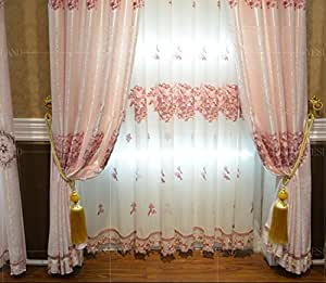 Double Swag Shower Curtain With Valance Curtains DVD