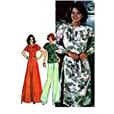 McCalls 4924 Womens Dress or Top 1970s Vintage Sewing Pattern Size 10 Bust 32 1/2