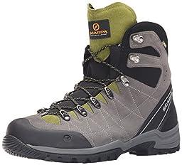 Scarpa Men\'s R-Evolution Gtx M Hiking Boot, Titanium/Grasshopper, 45.5 EU/11 2/3 M US