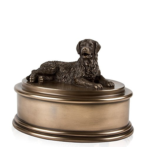 Perfect Memorials Golden Retriever Figurine Cremation Urn (Pet Urns For Outside compare prices)