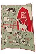 Green 3 Apparel Recycled USA-made Farm Throw