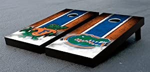 Florida UF Gators Cornhole Game Set Grunge Version Corn Hole by Gameday Cornhole