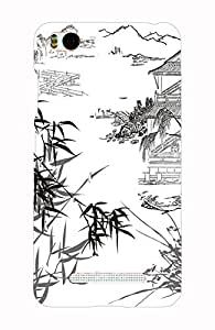 Back Cover for Xiaomi Mi4i Jungle Art