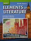 img - for Elements of Literature: Student Edition Grade 12 Sixth Course 2007 book / textbook / text book