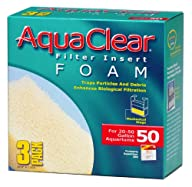 Aquaclear 50-Gallon Foam Inserts, 3-Pack