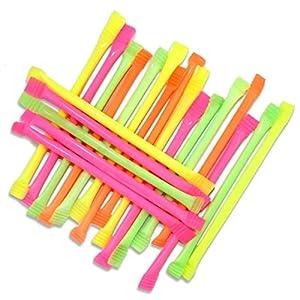 1 Neon Schleckpulver-Stange, 12cm, mit Dextrose, ohne Farbstoffe, versch. Farben möglich
