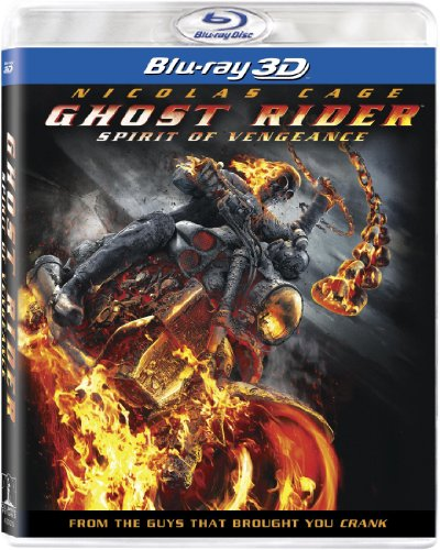 Cover art for  Ghost Rider: Spirit of Vengeance (+ UltraViolet Digital Copy) [Blu-ray 3D]