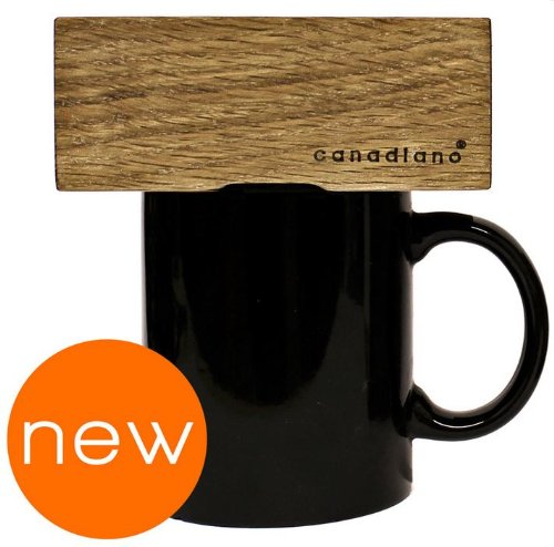 Buy Bargain Canadiano Premium Pour-Over Coffee Maker - Oak Edition - Crafted Coffee; Personalized