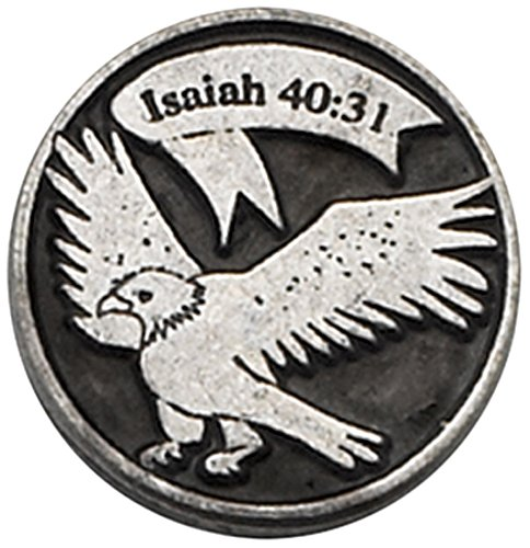 Cathedral Art PT125 Isaiah 40:31 Pocket Token, 1-Inch