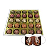 Chocholik - 25Pc Signature Chocolates With Diwali Special Coffee Mugs - Gifts For Diwali