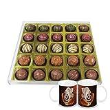 Chocholik - 25Pc Signature Chocolates With Diwali Special Coffee Mugs - Gifts For Diwali