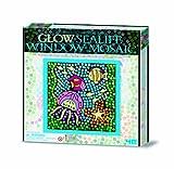 Great Gizmos 4M Easy-To-Do Glow Sealife Window Mosaic Art