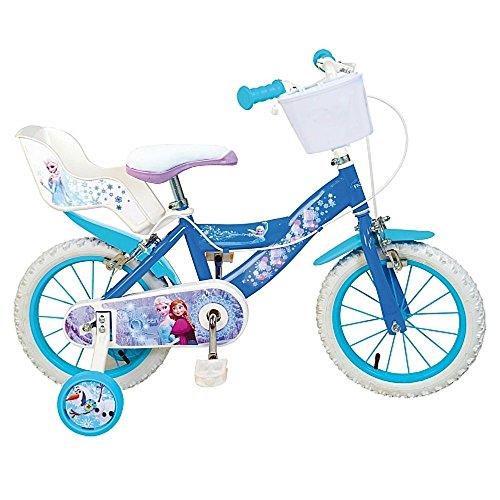 Vélo officiel Disney La reine des Neiges 16 pouces fille