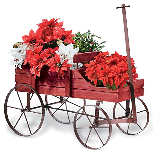amish-wagon-decorative-garden-planter-red