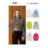 Vogue Patterns 9029 F5 Sizes 16 - 18 - 20 - 22 - 24 Misses Blouse