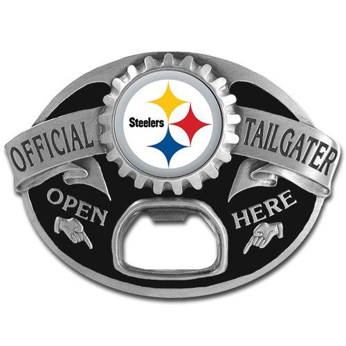 NFL Pittsburgh Steelers Tailgater / Bottle Opener Belt Buckle