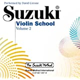 Suzuki Violin School, Volume 2 (CD) (Suzuki Method)