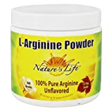 Nature's Life L-Arginine Powder, 300 Gram