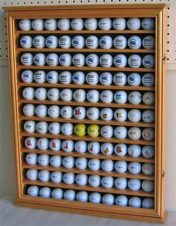 Golf Ball Collection Display Case For 110 Balls