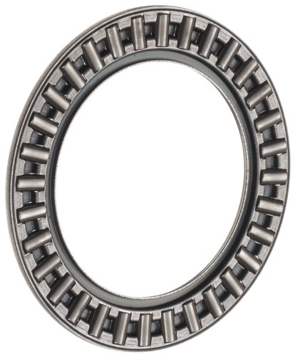 INA AXK5578 Thrust Needle Bearing, Axial Cage and Roller, Steel Cage, Open End, Metric, 55mm ID, 78mm OD, 3mm Width, 42lbf Static Load Capacity, 8.50lbf Dynamic Load Capacity