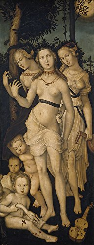 Perfect Effect Canvas ,the Replica Art DecorativeCanvas Prints Of Oil Painting 'Baldung Grien Hans Harmony Or The Three Graces 1541 44 ', 16 X 41 Inch / 41 X 105 Cm Is Best For Living Room Gallery Art And Home Gallery Art And (Armadillo Costume)