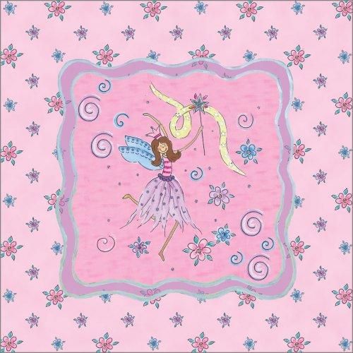 "Art 4 Kids ""Glitter Fairy Ii"" Mounted Art Print, 12""X12"" front-901977"