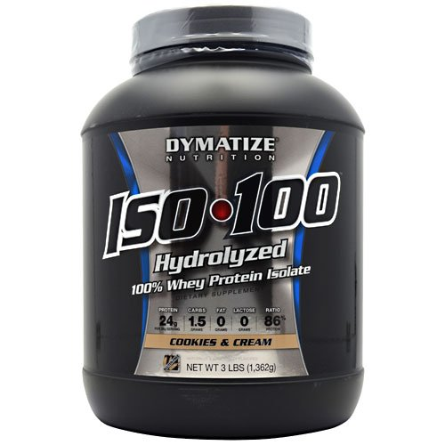 Dymatize ISO100 Hydrolyzed 100% Whey Protein Isolate Cookies