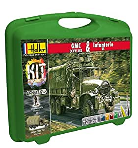 Amazon.com: Heller - 60996 - Maquette De Camion - Gmc Cckw 353 Et