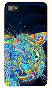 Dazzling multicolor printed protective REBEL mobile back cover for Blackberry Z10 D.No.N-T-2902-BBZ10