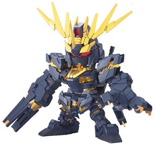 Bandai Hobby BB380 2 Banshee Super Deformed Gundam Unicorn Action Figure by Bandai Hobby